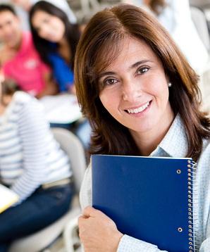 Older female student